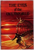 Books:Science Fiction & Fantasy, Jack Vance. The Eyes of the Overworld. Underwood-Miller, 1977. First cloth edition. Sunning to spine with light ...