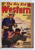 Pulps:Western, The Rio Kid Western Bound Volume (Better Publications, 1944-45).... (Total: 2 Items)