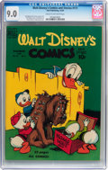 Golden Age (1938-1955):Cartoon Character, Walt Disney's Comics and Stories #111 (Dell, 1949) CGC VF/NM 9.0Cream to off-white pages....