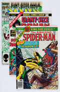 Modern Age (1980-Present):Miscellaneous, Marvel Modern Age Annuals Box Lot (Marvel, 1970s-'90s) Condition: VF/NM....