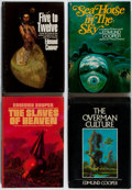 Books:Science Fiction & Fantasy, Edmund Cooper. Group of Four Book Club Editions. Putnam, 1968-1974. Spines sunned. Very good.... (Total: 4 Items)