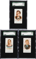 Baseball Cards:Lots, 1887 N28 Allen & Ginter High End SGC-Graded Trio (3). ...