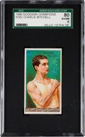 """Boxing Cards:General, 1888 N162 Goodwin """"Champions"""" Charlie Mitchell SGC 80 EX/NM 6...."""