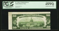 Error Notes:Skewed Reverse Printing, Fr. 2104-J $50 1934B Federal Reserve Note. PCGS Extremely Fine45PPQ.. ...