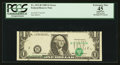 Error Notes:Shifted Third Printing, Fr. 1913-B $1 1985 Federal Reserve Note. PCGS Apparent Extremely Fine 45.. ...