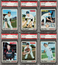 Baseball Cards:Singles (1970-Now), 1970 Topps Baseball PSA Gem Mint 10 Collection (6). ...