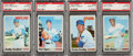 Baseball Cards:Singles (1970-Now), 1970 Topps Baseball PSA Gem Mint 10 Collection (4). ...