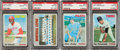 Baseball Cards:Singles (1970-Now), 1970 Topps Baseball PSA Gem Mint 10 Collection (4)....