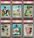Baseball Cards:Singles (1970-Now), 1970 Topps Baseball PSA Gem Mint 10 Collection (6)....