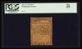 Colonial Notes:Continental Congress Issues, Continental Currency February 17, 1776 $1/2 PCGS Fine 15.. ...