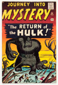 Silver Age (1956-1969):Horror, Journey Into Mystery #66 (Marvel, 1961) Condition: VG+....