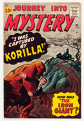 Silver Age (1956-1969):Horror, Journey Into Mystery #69 (Marvel, 1961) Condition: FN+....