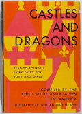 Books:Children's Books, William Pène du Bois [illustrator]. Castles and Dragons.Crowell, 1958. First edition, first printing. Soft bump...