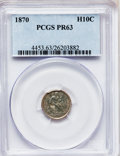 Proof Seated Half Dimes: , 1870 H10C PR63 PCGS. PCGS Population (65/70). NGC Census: (28/103).Mintage: 1,000. Numismedia Wsl. Price for problem free ...