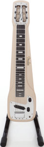 Musical Instruments:Lap Steel Guitars, 1950s Fender Champ Tan Lap Steel Guitar....