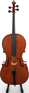 Musical Instruments:Violins & Orchestra, 1980s Josef Mayer and Son Brown Stain Cello....