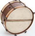 Musical Instruments:Drums & Percussion, 1930s Slingerland Natural Wooden Snare....