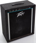 Musical Instruments:Amplifiers, PA, & Effects, 1980s Peavey KB-100 Black Guitar Amplifier, Serial # 074227200. ...