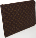 Luxury Accessories:Accessories, Heritage Vintage: Louis Vuitton Classic Monogram Zip-AroundPortfolio. ...
