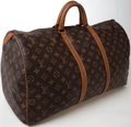 Luxury Accessories:Travel/Trunks, Heritage Vintage: Louis Vuitton by French Company 45 cm ClassicMonogram Keepall Travel Bag. ...