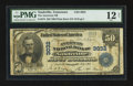 National Bank Notes:Tennessee, Nashville, TN - $50 1902 Plain Back Fr. 675 The American NB Ch. #3032. ...