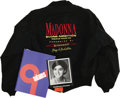 Music Memorabilia:Memorabilia, Madonna High School Yearbook and Blond Ambition Tour Jacket. An Adams High School yearbook from 1976, featuring a young Mado... (Total: 1 Item)