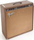 Musical Instruments:Amplifiers, PA, & Effects, 1962 Fender Concert Brown Guitar Amplifier, Serial # S3475....