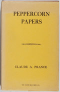 Books:Books about Books, [Books About Books]. Claude A. Prance. Peppercorn Papers. Golden Head, 1964. First edition, first printing. Sunning ...