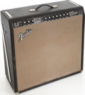 Musical Instruments:Amplifiers, PA, & Effects, 1964 Fender Super Reverb Black Guitar Amplifier, Serial # A03633....