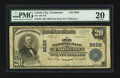 National Bank Notes:Tennessee, Union City, TN - $20 1902 Plain Back Fr. 653 The Old NB Ch. # 9629....