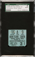 Basketball Collectibles:Others, 1962 Philadelphia Warriors Wilt Chamberlain 100 Point Game Ticket Stub....