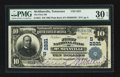 National Bank Notes:Tennessee, McMinnville, TN - $10 1902 Plain Back Fr. 631 The First NB Ch. #(S)2221. ...