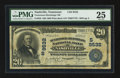 National Bank Notes:Tennessee, Nashville, TN - $20 1902 Plain Back Fr. 658 Tennessee-Hermitage NBCh. # (S)9532. ...