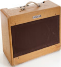Musical Instruments:Amplifiers, PA, & Effects, 1953 Fender Pro Tweed Guitar Amplifier, Serial # 0071....