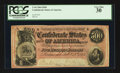 Confederate Notes:1864 Issues, T64 $500 1864 PF-1 Cr. 489A.. ...