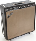 Musical Instruments:Amplifiers, PA, & Effects, 1965 Fender Super Reverb Black Guitar Amplifier, Serial # A06122....