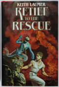 Books:Science Fiction & Fantasy, [Jerry Weist]. Keith Laumer. SIGNED. Retief to the Rescue. Timescape, 1983. First edition, first printing. Signed ...