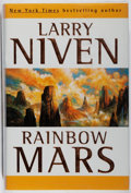 Books:Science Fiction & Fantasy, [Jerry Weist]. Larry Niven. SIGNED/WITH ORIGINAL SIGNED DRAWING. Rainbow Mars. TOR, 1999. First edition, first print...