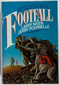 Books:Science Fiction & Fantasy, [Jerry Weist]. Larry Niven and Jerry Pournelle. SIGNED. Footfall. Del Rey, 1985. First edition, first printing. Si...