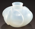 Art Glass:Lalique, R. LALIQUE OPALESCENT GLASS PERIGORD VASE . Circa 1928.Engraved: R. Lalique, France . 5-1/2 inches high (14...