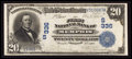 National Bank Notes:Tennessee, Memphis, TN - $20 1902 Date Back Fr. 642 The First NB Ch. # (S)336....