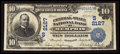 National Bank Notes:Tennessee, Memphis, TN - $10 1902 Date Back Fr. 622 The Central-State NB Ch. #(S)2127. ...