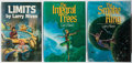 Books:Science Fiction & Fantasy, [Jerry Weist]. Larry Niven. Group of Three Signed or Inscribed Books, Two First Editions. Various, 1983-1987. Limits is ... (Total: 3 Items)