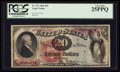 Large Size:Legal Tender Notes, Fr. 127 $20 1869 Legal Tender PCGS Very Fine 25PPQ.. ...