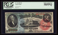 Large Size:Legal Tender Notes, Fr. 42 $2 1869 Legal Tender PCGS Choice About New 58PPQ.. ...