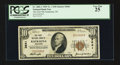 National Bank Notes:Wisconsin, Kaukauna, WI - $10 1929 Ty. 1 The First NB Ch. # 3641. ...