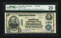 National Bank Notes:Wisconsin, Ladysmith, WI - $5 1902 Plain Back Fr. 607 The Pioneer NB Ch. # 11826. ...