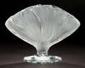 Art Glass:Lalique, A LALIQUE GLASS VASE: ICHOR . Late 20th century. Marks:Lalique ® France . 9-3/4 x 14 x 6-3/4 inches (24.8 x 35....