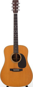 Musical Instruments:Acoustic Guitars, 1967 Martin D-28 Natural Acoustic Guitar, Serial # 222484....