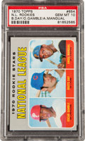 Baseball Cards:Singles (1970-Now), 1970 Topps NL Rookies #654 PSA Gem Mint 10....